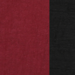 Burgundy with Black