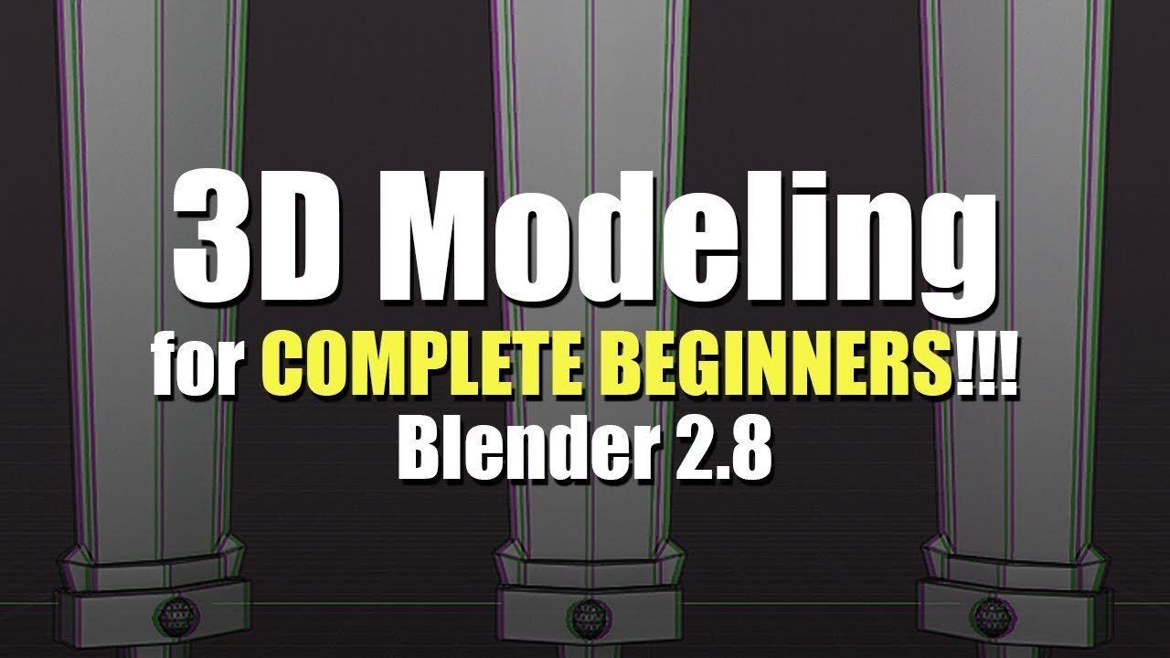 Modeling in Blender for Complete Beginners [Blender 2 8] - Stylized