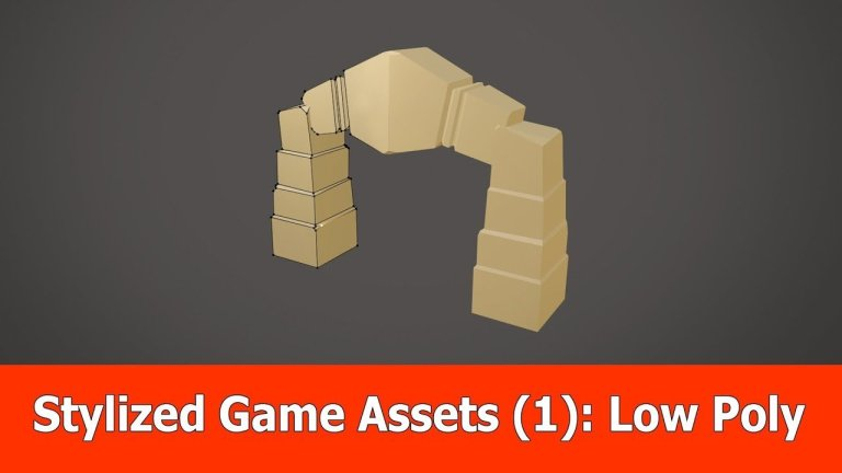 Creating a Stylized Game Asset – 5 Part Series [Blender/Zbrush/Substance Painter]