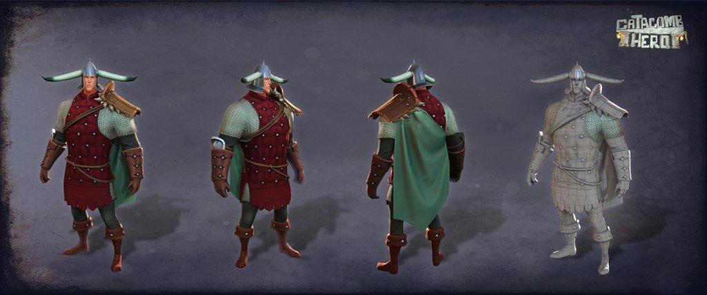 Catacomb Hero Characters by Greva Art