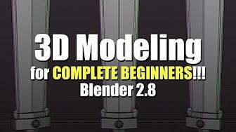 Yansculpt's 3D Modelling a sword for Complete Beginners in Blender 2.8