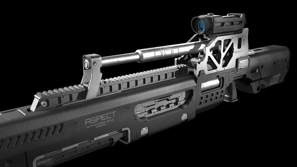 Aspect Concept Rifle by Johan Sjöström
