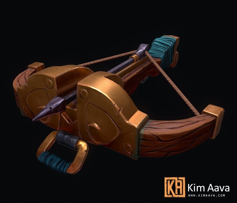 Stylized Crossbow by Kim Aava