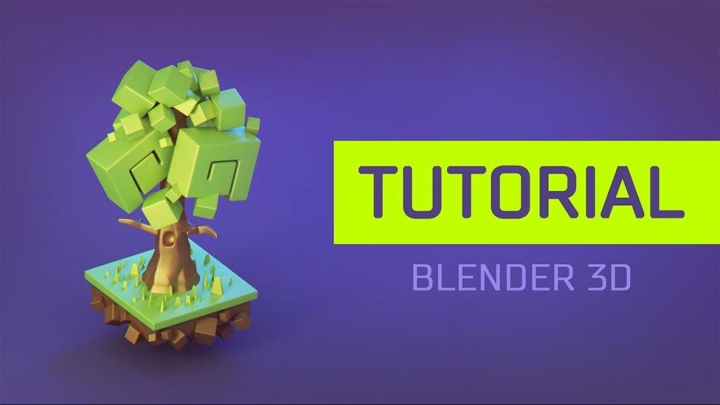 Modeling a Stylized Tree in Blender