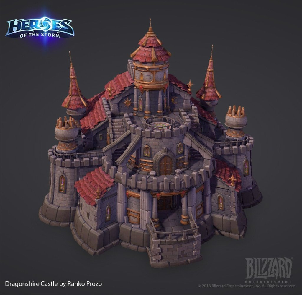 DragonShire Castle Kit by Ranko Prozo
