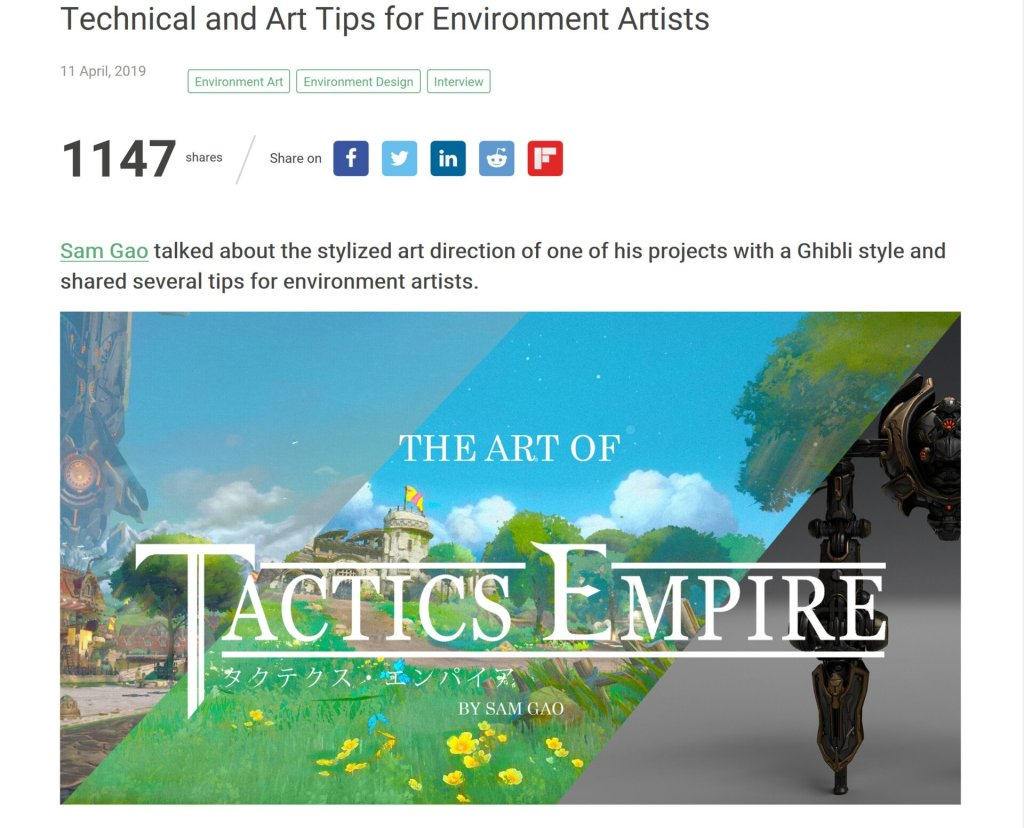 The Art of Tactics Empire by Sam Gao