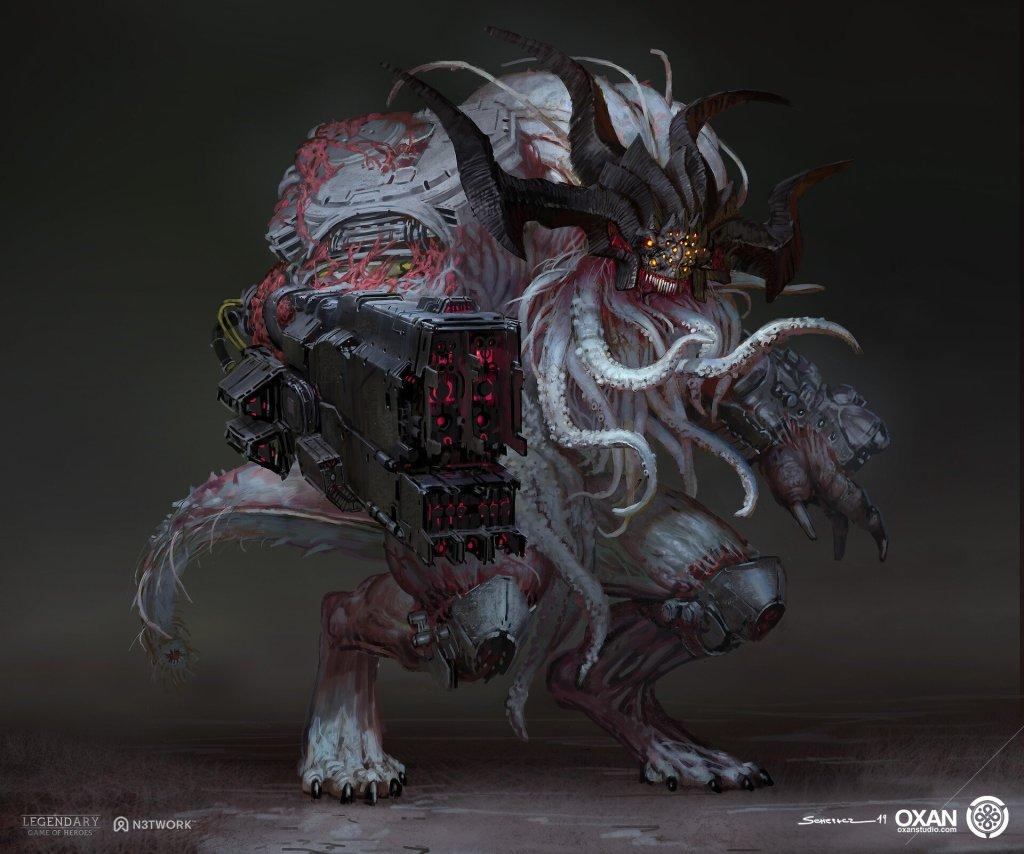 Infernal Defiler Shokushu – Yohann Schepacz