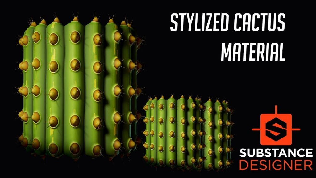 Creating a Stylized Cactus Texture in Substance Designer
