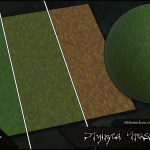 Stylized Grass – Substance, Textures and Source By  Alchemic Iron Games