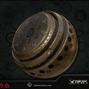 Screws Tool – Brushes and Substances By  Alchemic Iron Games