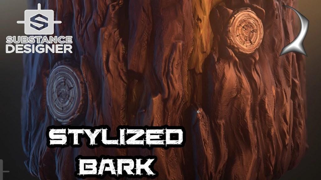 Tutorial: Stylized Tree Bark in Substance Designer