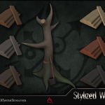 Stylized Wood – Smart Materials By Alchemic Iron Games