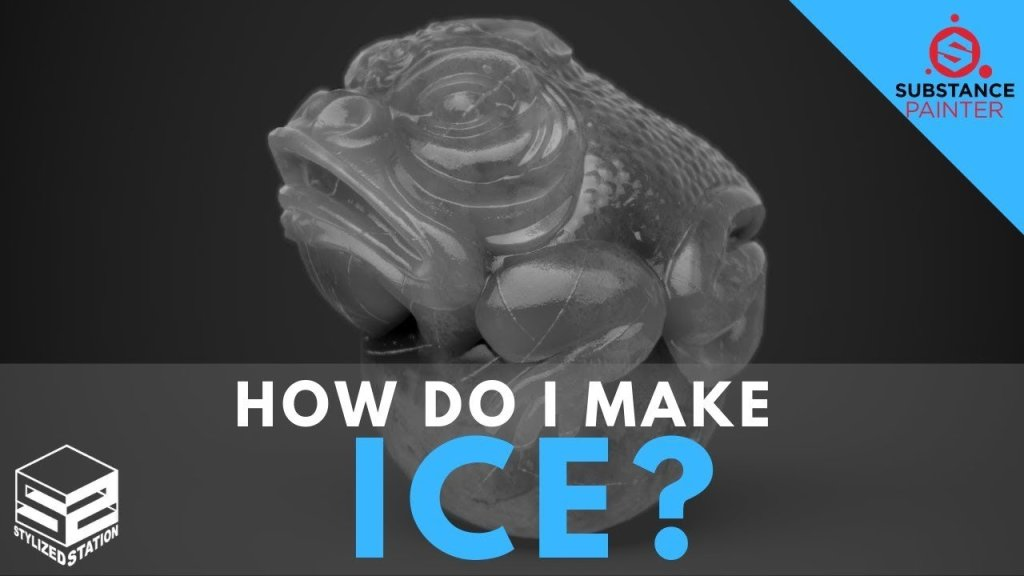 How do I make this? #2: ICE! [SUBSTANCE PAINTER]