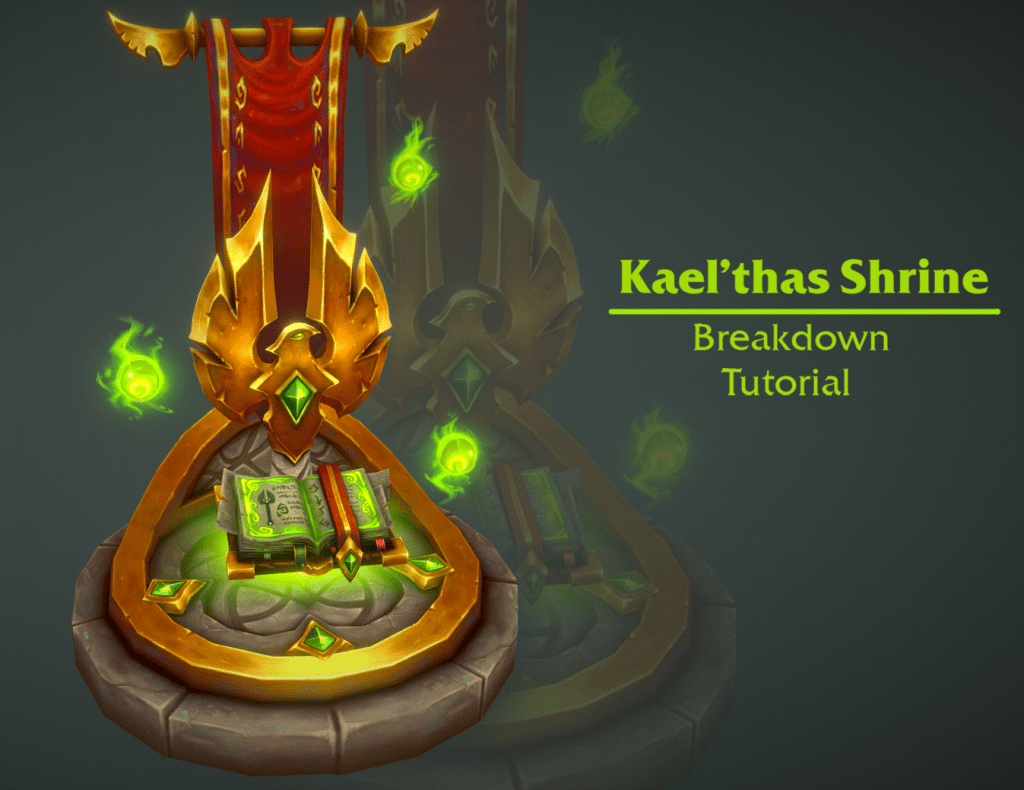 Hand Painted Textures – How to create WoW-style Assets