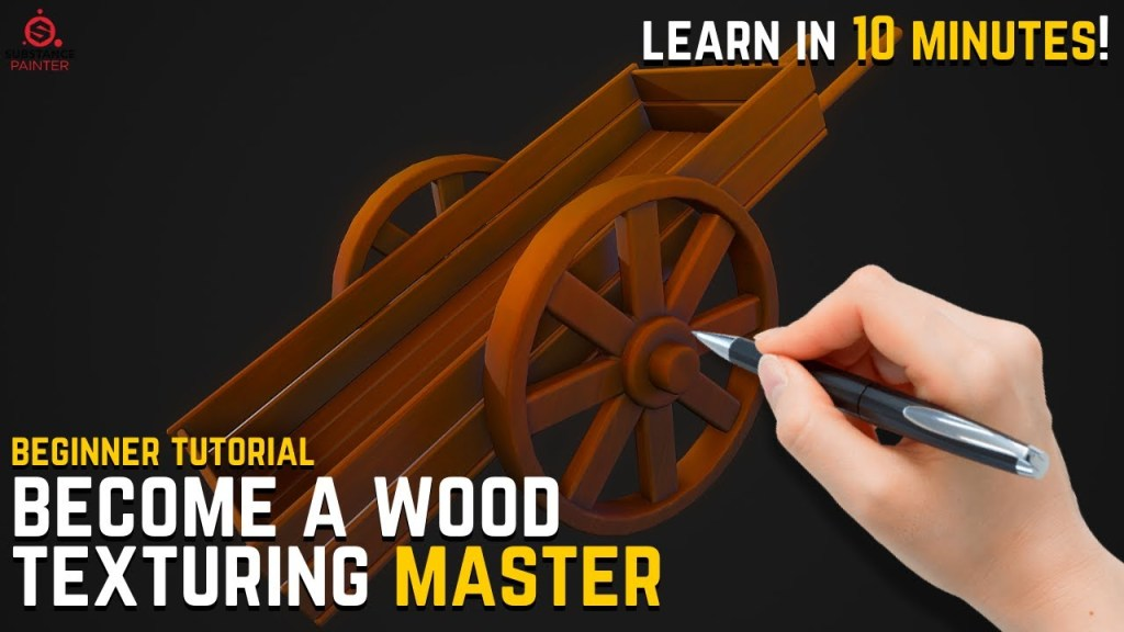 Beginner's Guide for Wood Textures in Substance Painter [BECOME A MASTER]