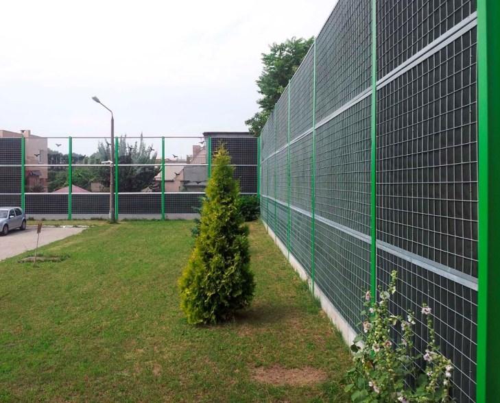 Projekt budowlany ekranów akustycznych przy zajezdni MPK w Poznaniu.