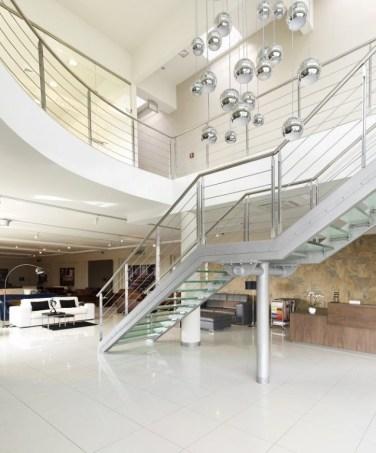 Projekty ekskluzywnych schodów i balustrad.