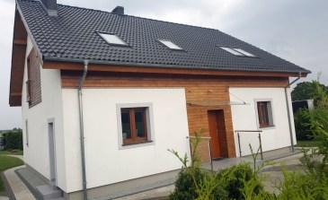 Projekt i budowa budynku mieszkalnego jednorodzinnego.