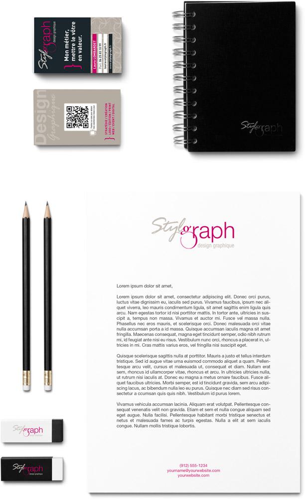 charte graphique stylograph