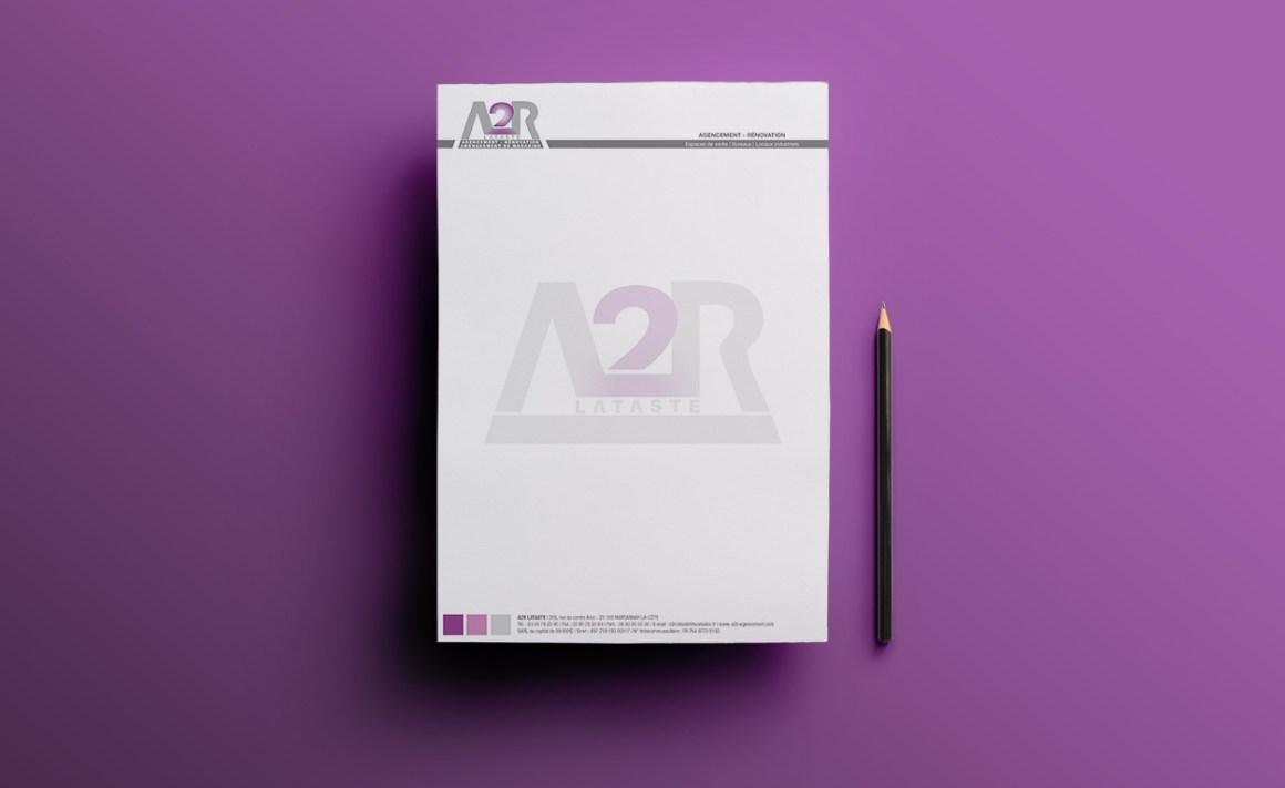 Tête de lettre A2R