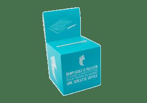 Boîte urne