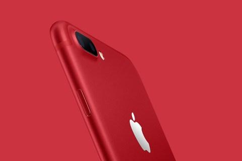 全新特别版红色iPhone 7