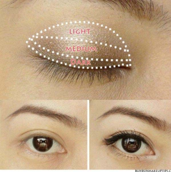 Light Party Makeup Step By