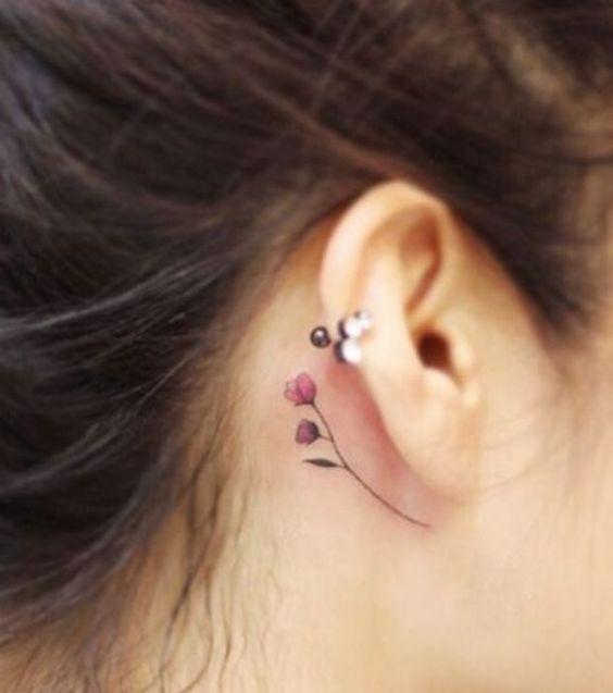 minimalistyczny tatuaż