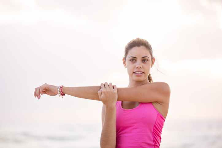 Yoga efter delte mavemuskler