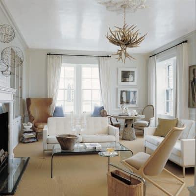 Estilos de diseño de interiores: sala de estar de Andrew Flesher: estilo