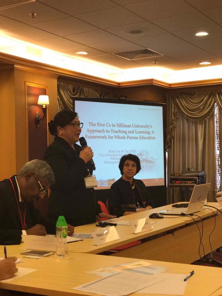 Dr. Tan Speaks on Whole Person Education at United Board Event in HK
