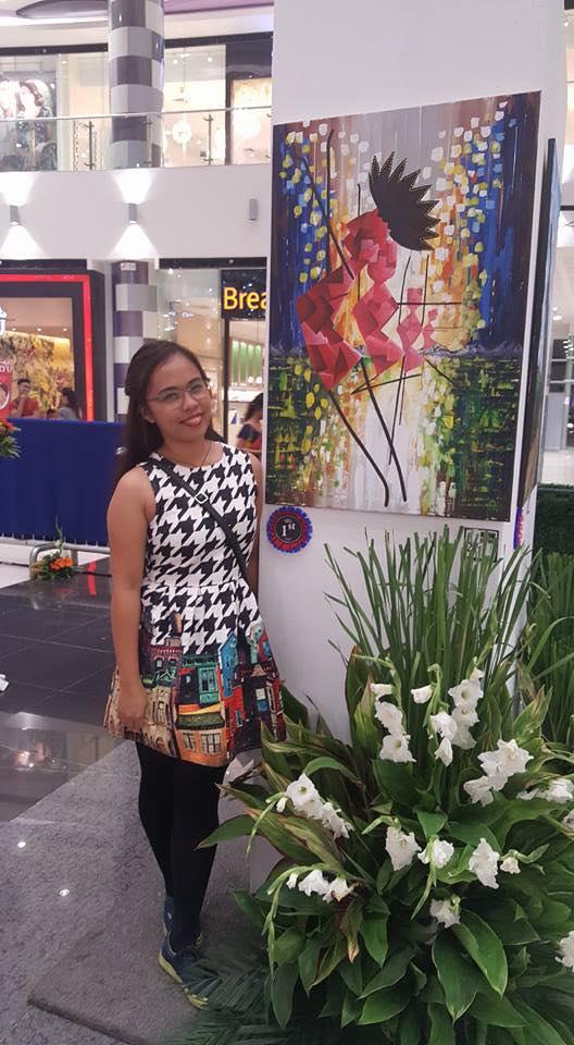 1st Year Fine Arts Major Wins Victorias Milling Art Contest