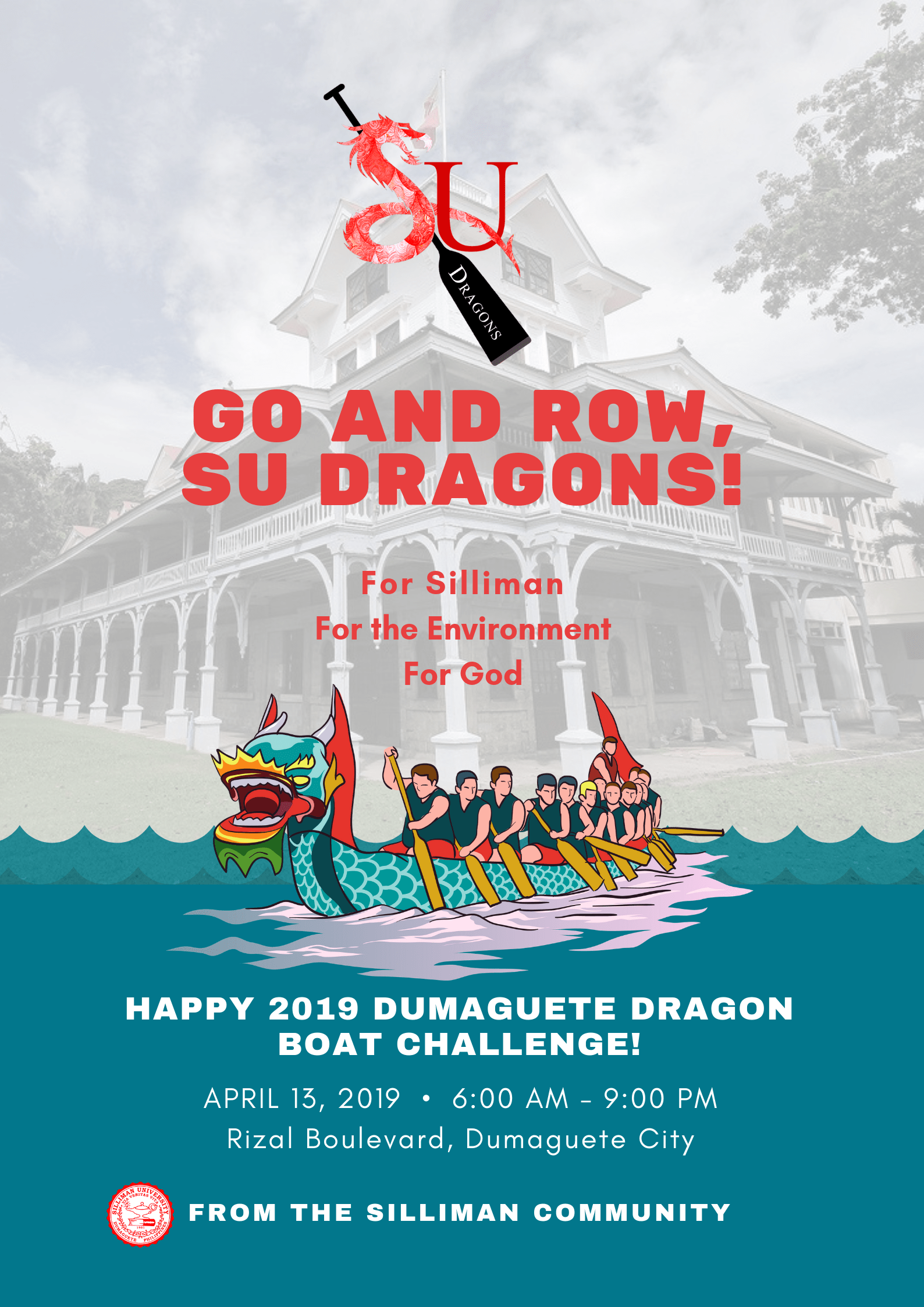 Su Dragons To Participate In Dumaguete Dragon Boat