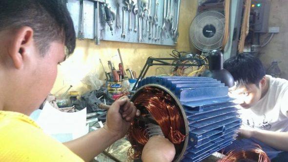 Sửa máy bơm nước tại nhà Hà Nội