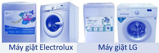 nên chọn máy giặt electrolux hay lg
