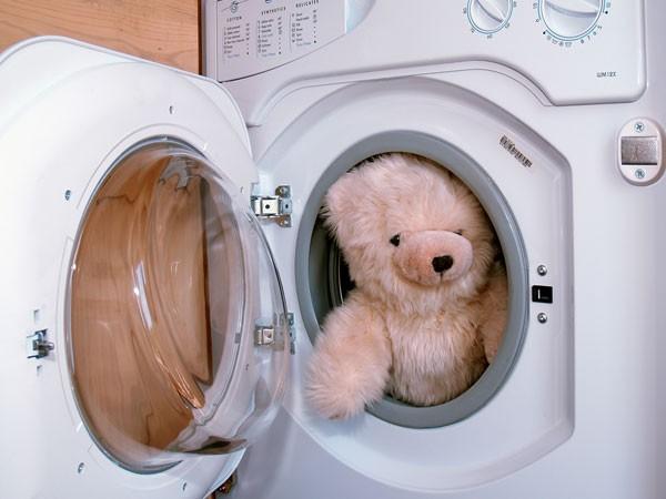 cách giặt gấu bông bằng máy giặt