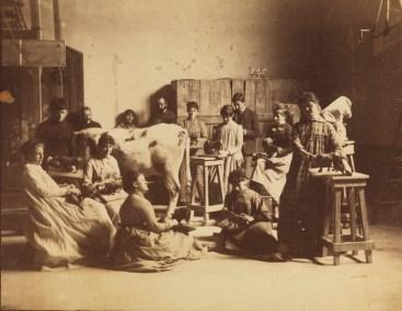 Women's classes PAFA - 1882