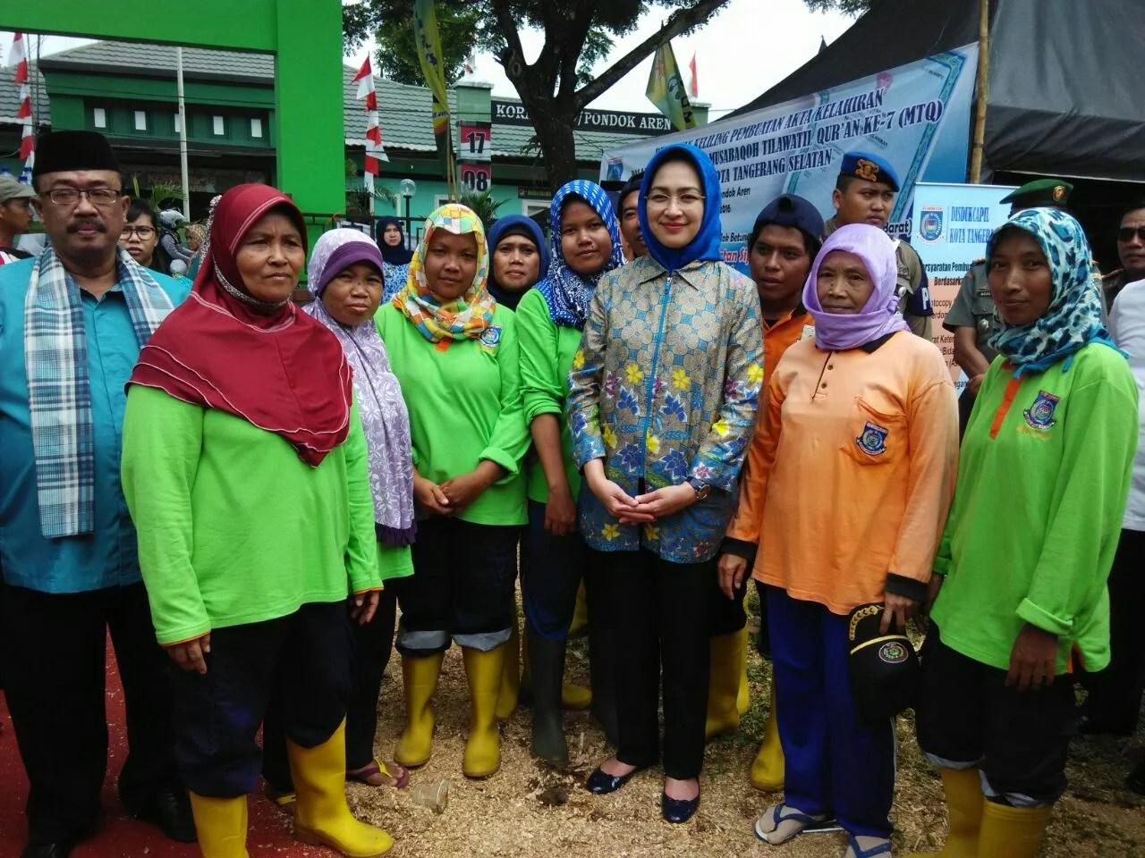 Airin Rachmi Diany Netral Dalam Pilkada Banten