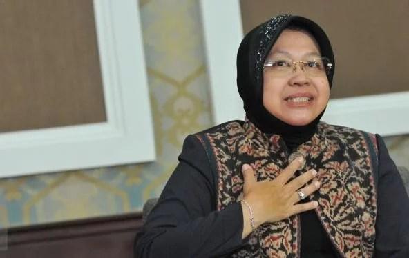 Risma Datangi KPK untuk Selamatkan Aset Pemkot Surabaya