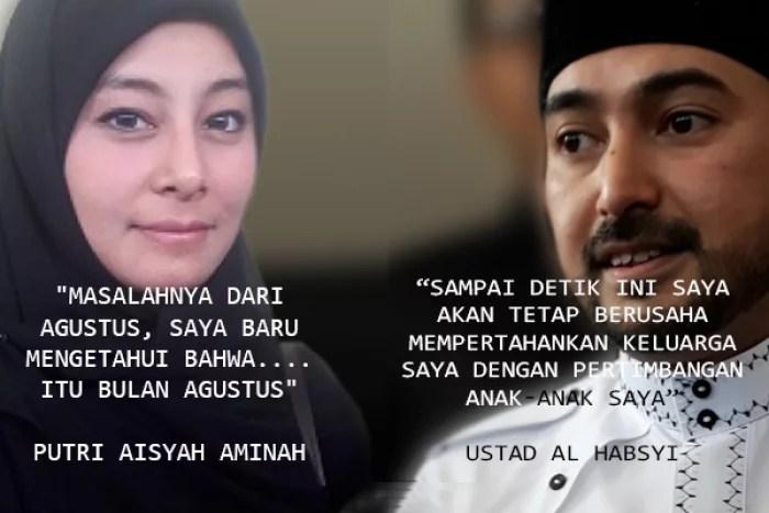 7 Tahun Dibohongi Sang Ustaz, Putri Aisyah Kian Kukuh Gugat Cerai