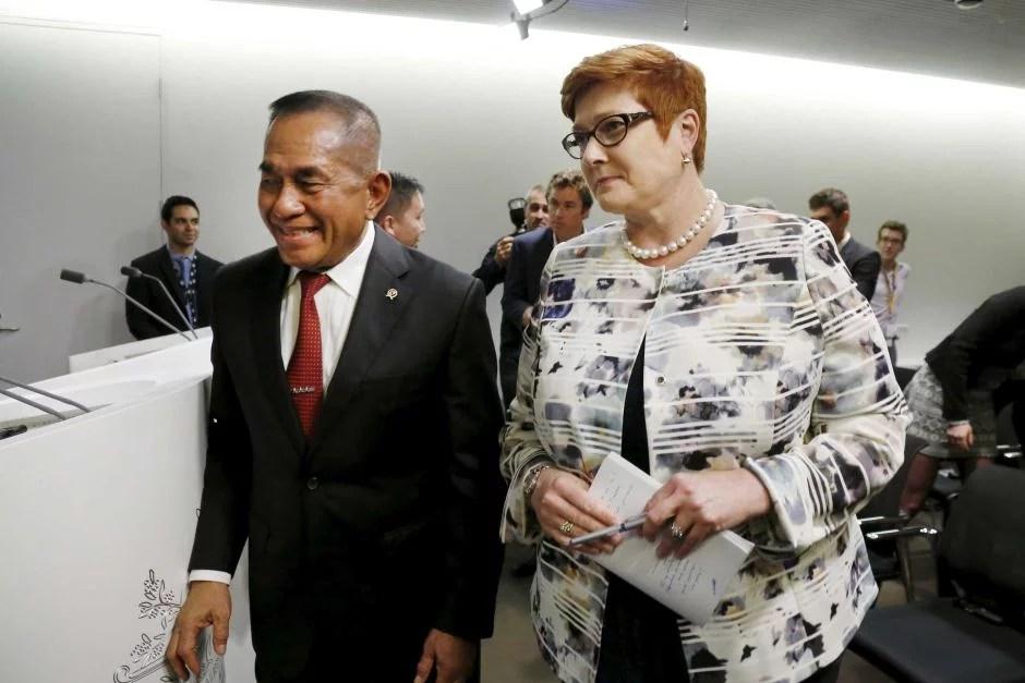 Bahas Pertahanan dengan Australia, Ryamizard Sampaikan Kebijakan Maritim Indonesia