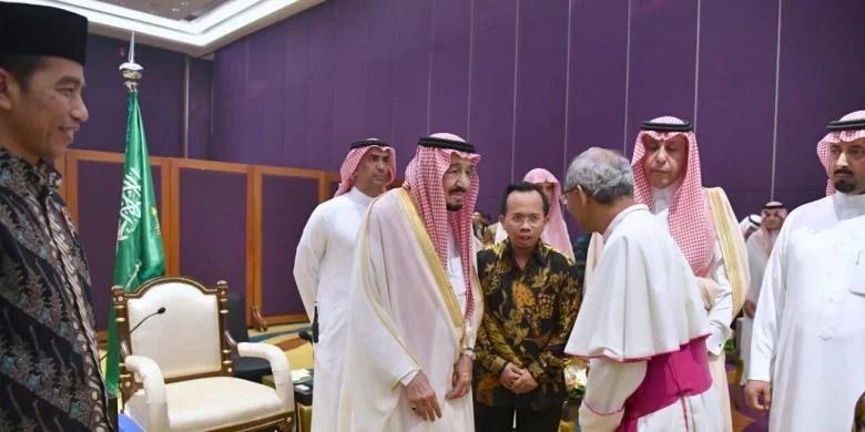 Isi Pesan Tokoh Lintas Agama pada Raja Salman dan Jokowi