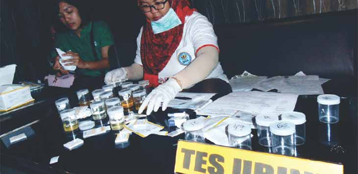 Antisipasi Peredaran Narkoba, Kapolres Depok Mendadak Minta Lakukan Tes Urine