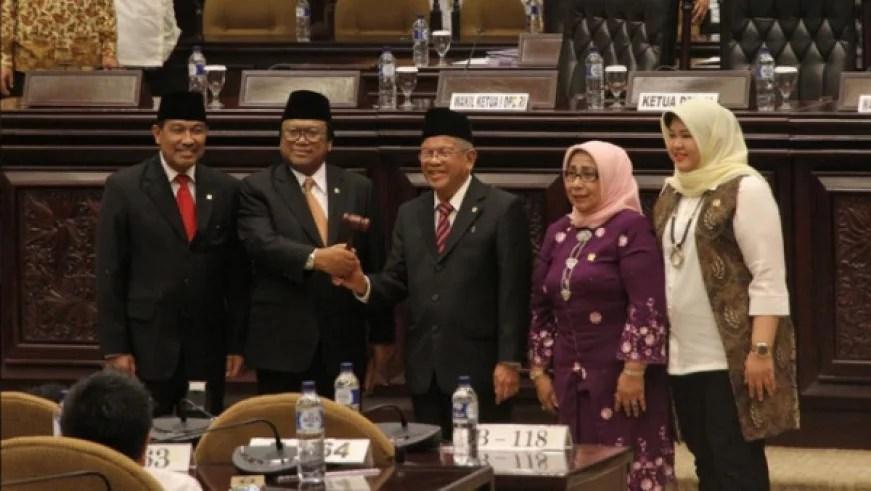 Resmi Menjadi Ketua DPD, MA Dinilai Jilat Ludah Sendiri