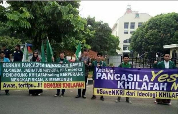 Lagi, Kampanye Khilafah HTI Mendapat Penolakan Dari Masyarakat