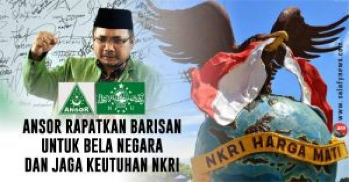 Jelang Aksi HTI, GP Ansor: Tolak dan Bubarkan
