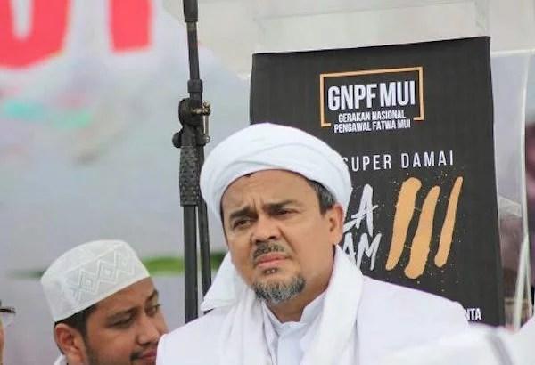 Diperiksa 7 Jam, Habib Rizieq Sebut Barang Bukti Hasil Editan