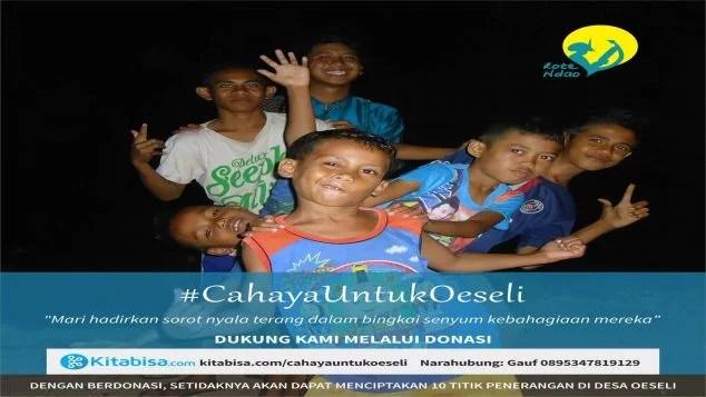 Cahaya untuk Oeseli, Gerbang Pintu Terselatan Indonesia
