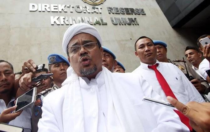 Habib Rizieq Ajukan 5 Saksi Ahli untuk Ringankan Kasusnya