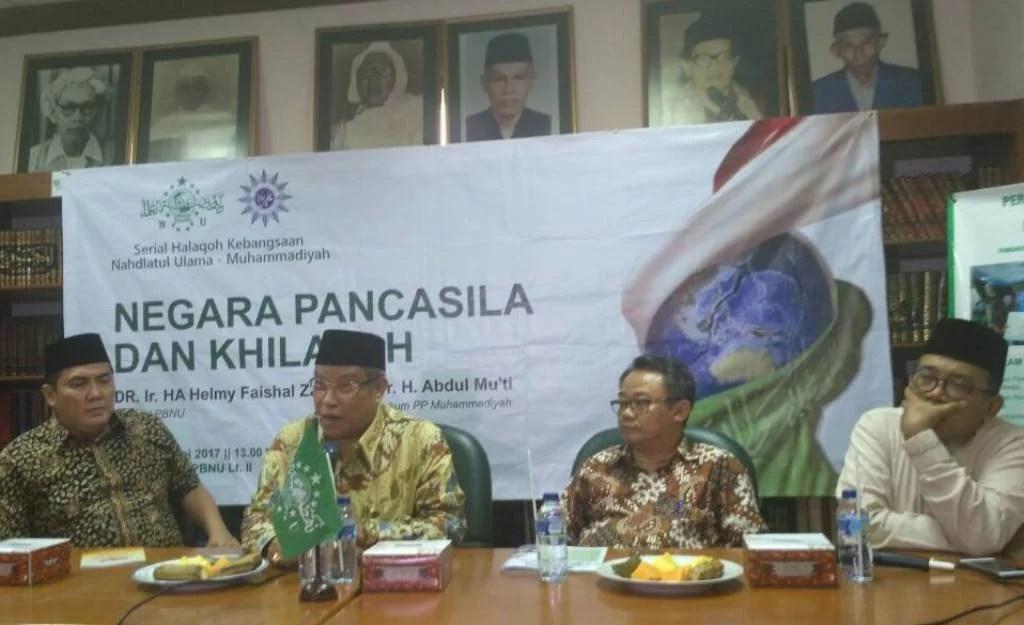 Dua Amanat yang Diemban NU dan Muhammadiyah